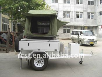 affordable camping tent trailer