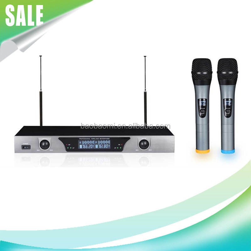 Harga Microphone Wireless Professional Microphone Wireless KU-8500 Wireless Mic With Good Quality Enping Microphone Karaoke