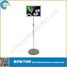 Advertising poster sign stands board aluminium frame