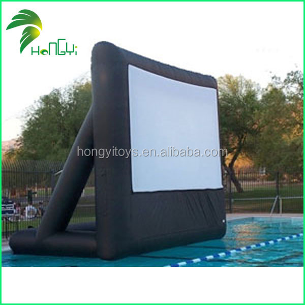 Large inflatable outdoor movie screen for sales