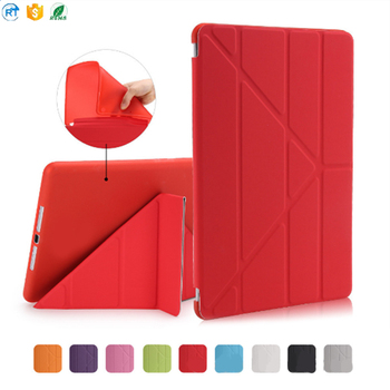For iPad Mini 1/2/3 Leather Case , Smart Cover For iPad Mini