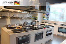 German Pool Custom made Modern Design Multi-functional MDF for Display white color Modular kitchen Furniture