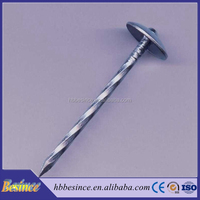 Direct Factory Hot Sales Umbrella Head Roofing Nail