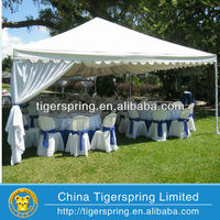 the newest popular draping for tents