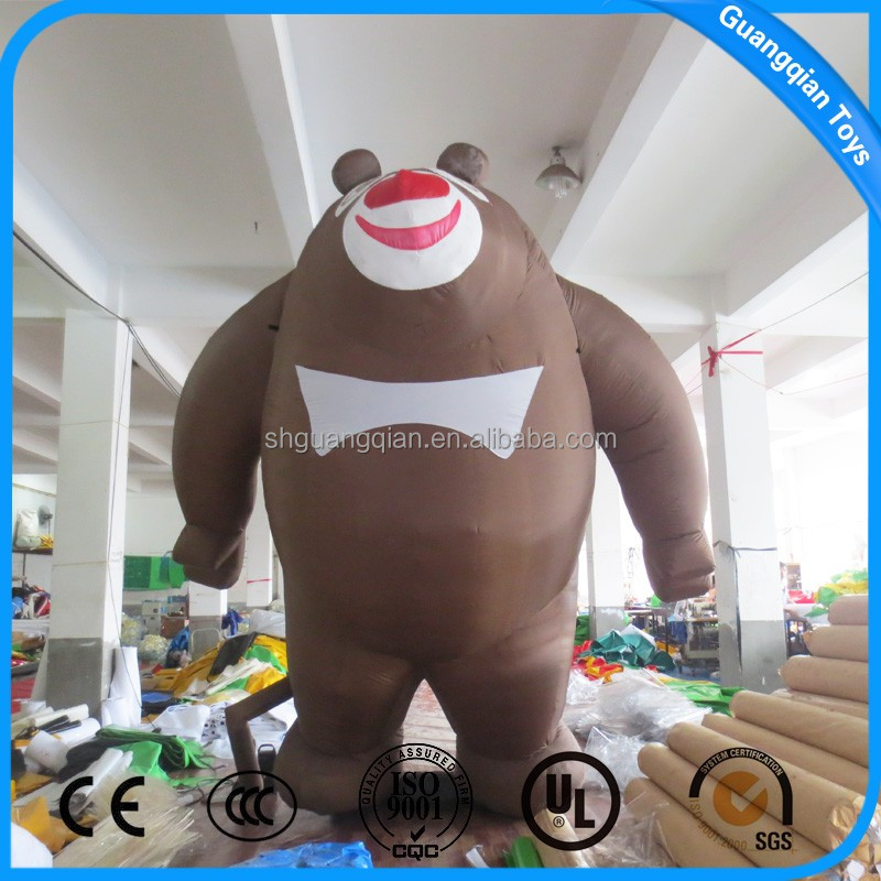 Guangqian Outdoor Customized Animal model Inflatable Cartoon Characters