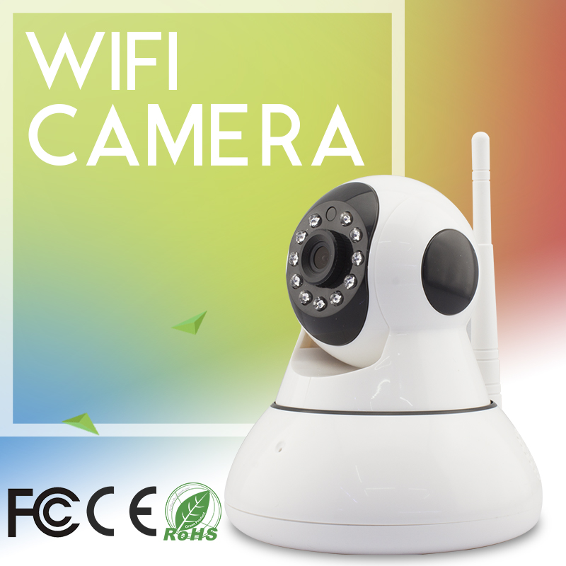 Vitevision home ptz and pir wifi wireless ip camera with speaker and microphone