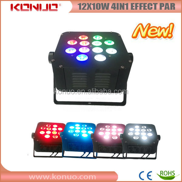 New Magic Vision ! 10W rgbw 4in1 effect 12pcs led par light