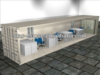 steel frame container office prefab office building