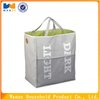 100% polyester dirty travel laundry bag with handles