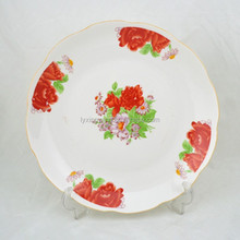 LY-FP decoration food fruit tray dish plate, ceramic fruit plate, islamic ceramic plates
