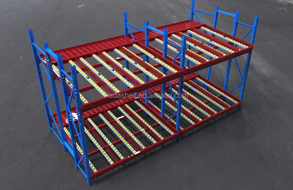 Heavy Duty 4.5T per layer metal warehouse storage palleting racks for industrial storage