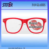 customized logo promotional gift UV 400 pinhole sun glasses with FDA CE made in China