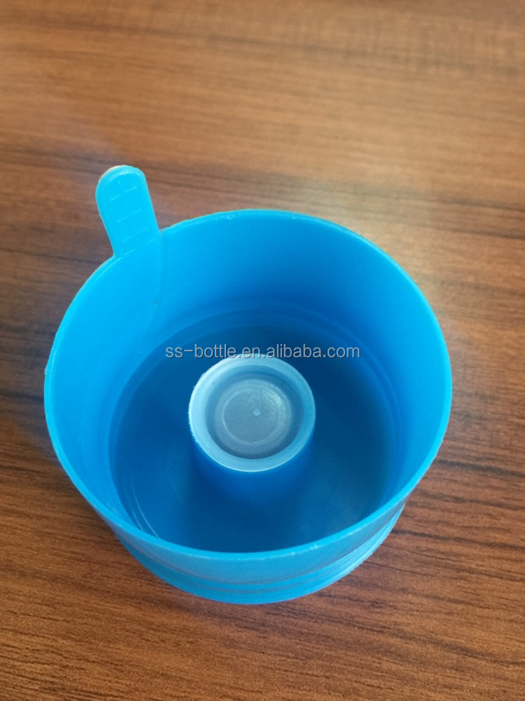 PE Plastic Type and non-spill caps for 5 gallon water bottle