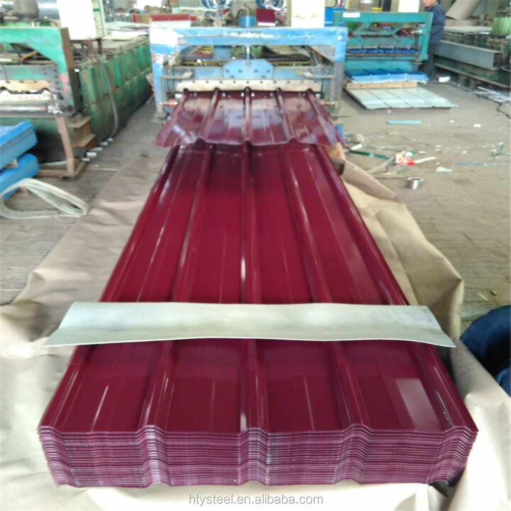 T Type Corrugated Roofing Sheets/tiles Construction Materials(factory)