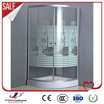 Hot sale cheap fiberglass shower enclosures