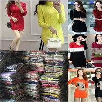 1.28USD High Quality Autumn Winter Assorted Women Clothes/Dress/Jumper Sweater (gdzw336)