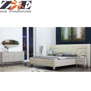 Modern China bedroom furniture / latest wooden home furniture bedroom / foshan bedroom furniture set