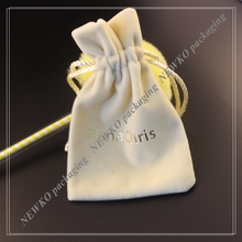 New coming custom gifts bags promotional bags velvet pouch