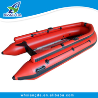 2015 China Factory 420 PVC Rigid Folding Boat For Sale
