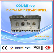 COL-MT 100 wireless cable tv transmitter, fm transmitter 10 km