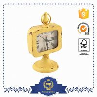 Factory Direct Price Export Quality Attractive Square Photo Frame Wall Clock
