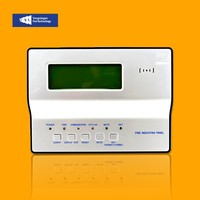 RS485 LCD Display Repeater Addressable Remote Fire Alarm Annunciator Panel