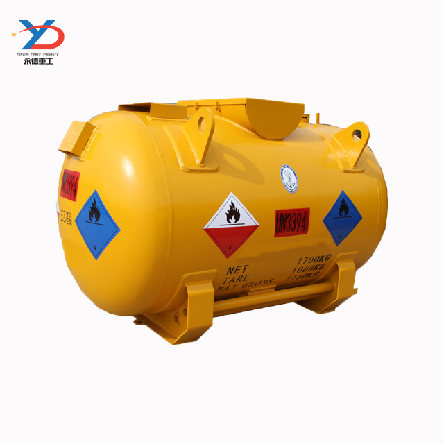 Mobile Fuel Gasoline Tank Size Storage Tanks For Shipping