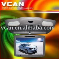 CAD-1980, car dvd 19 Flip Down TFT LCD Monitor with DVD player Built in TV, Built FM, IR