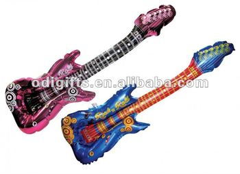 Inflatable Rock Guitar Party toy 36 inch