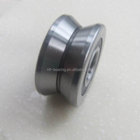 Good quality guide wheel track roller bearing LV20/8 ZZ