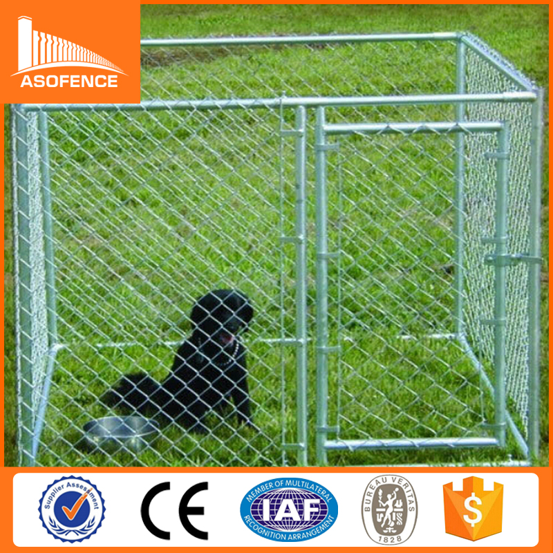 wholesale large outdoor galvanized heavy duty dog crate