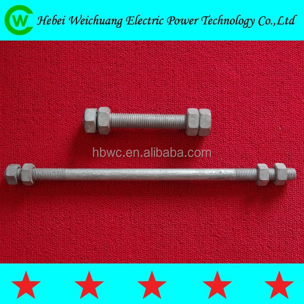 China high quality galvanized bolt nut and washer