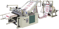 Hottest sale !!! Plastic PP woven bag cutting machine and sewing machine