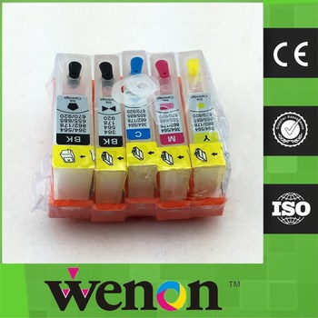 5 color Ink cartridge for HP364