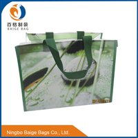 BSCI AUDITED china factory cheap promotion gift reused laminated pp woven shopping packaging bags