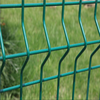 2.5m width by 2.0m High Powder Coating green color 3D fence panel