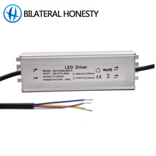 60W 80W 100W 2400mA 3000mA IP67 100V to 305V input Isolated led Waterproof driver for street light UFO light