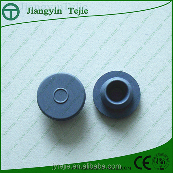 20mm ethylene oxide silicone rubber stopper for antibiotics