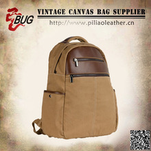 2014 Hiking travel bag korean style canvas laptop backpack