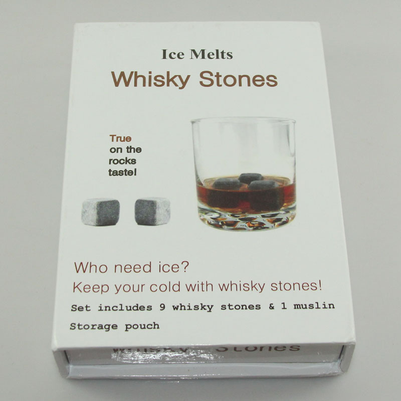 Bar Accessories whiskey Rocks/whisky ice stone Ice Cubes