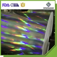Metallized holographic paper holographic wrapping paper