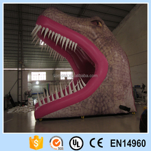 Inflatable giant dinosaur replica big commercial monster kids toy