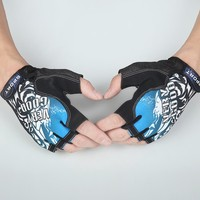 Fashion cycling gloves 2015 half finger gloves