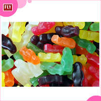 Custom Fruit Flavor Jelly Baby Shaped Gummy Candy in Bulk