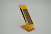 2013 5v 800ma portable solar wireless mobile phone charger used for samsung mobile phone