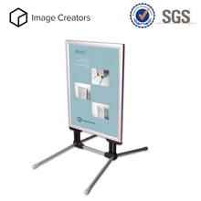 Side Sidewalk Pavement A Frame PVC Poster Sign Board