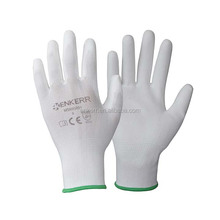 ENKERR <strong>SAFETY</strong> 13 Gauge white nylon liner pu coated gloves