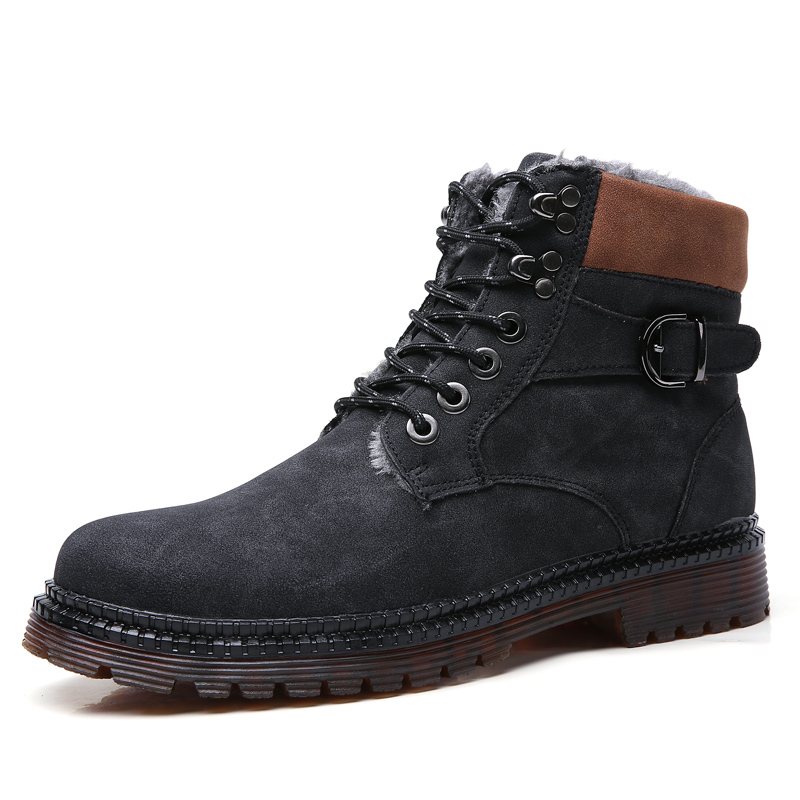 Martin <strong>Boots</strong> Add Wool Mens Snow <strong>Boot</strong> Leather Snow Shoe