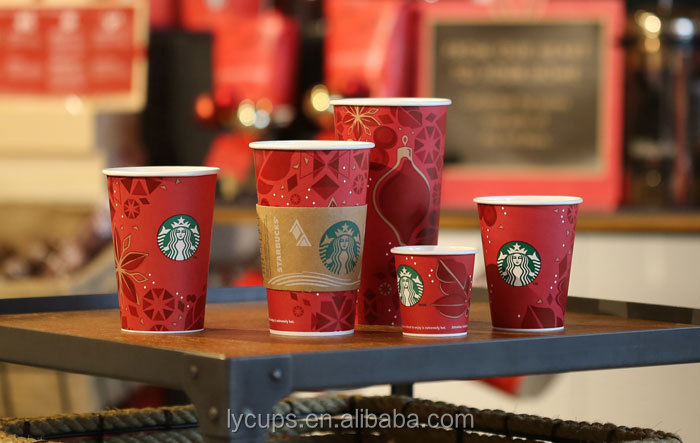Paper Material and Starbuck coffee Paper Cup