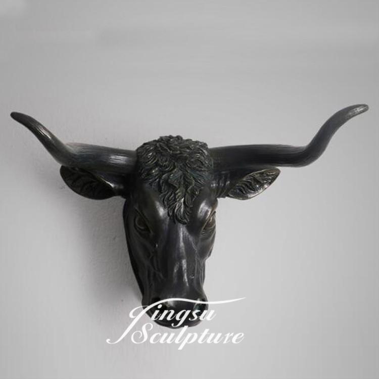 Pas cher prix int rieur d coration sculpture t te de vache for Vache decorative interieur
